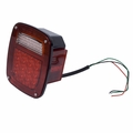 LED Tail Light Assembly, Right Side, 76-06 Jeep CJ and Wrangler by Rugged Ridge