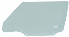 Left Side Front Door Glass, 2 Door Jeep Cherokee 1997-2001, Drivers Side without Vent Window