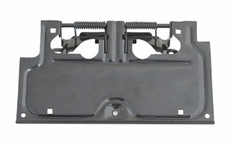 License Plate Bracket, 87-95 Jeep Wrangler by Rugged Ridge