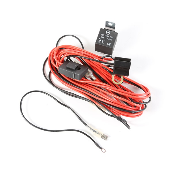 light installation wiring harness for 2 lights by rugged ridge