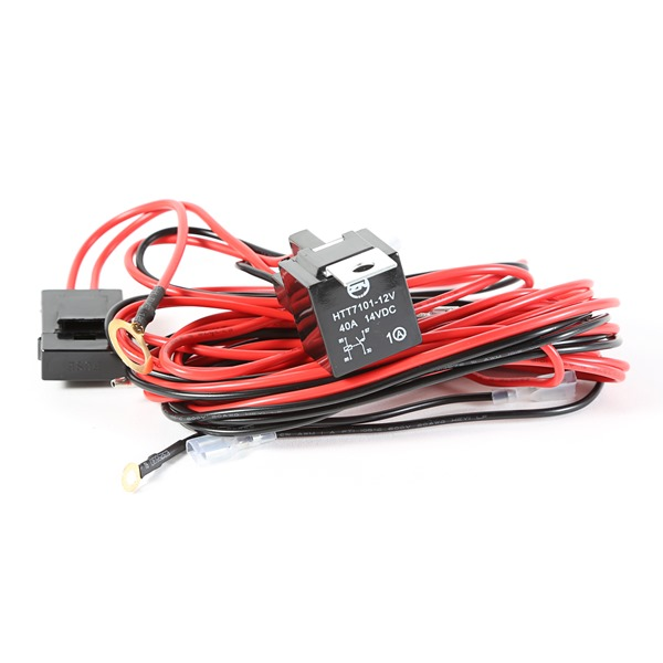 light installation wiring harness for 3 lights by rugged