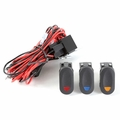 ( 1521073 ) Light Wiring Harness Kit for 3 Lights by Rugged Ridge