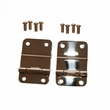 Tailgate Hinges, Stainless Steel, 76-86 Jeep CJ Models by Rugged Ridge