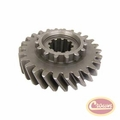 34) Mainshaft Gear for 1972-79 Jeeps with Model 20 Transfer Case, (Mark 18-8-55) T-150 Transmission, 26 Teeth Count
