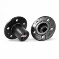 Manual Locking Hub Set, 83-89 Ford Rangers and Bronco IIs by Rugged Ridge