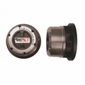 Manual Locking Hub Set, 72-80 Jeep CJ and 72-80 IH Trucks by Rugged Ridge