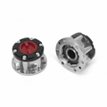 Manual Locking Hub Set, 86-00 Toyota 4-Runner and T100 Pickup by Rugged Ridge