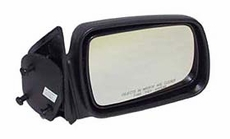 Manual Mirror, Right Jeep Grand Cherokee (1993-1998); Right side; Black.