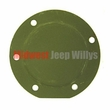 Master Cylinder Floor Cover, 1941-64 Willys Jeep MB, GPW, CJ2A, CJ3A, CJ3B