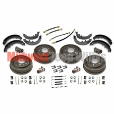 Drum Brake Overhaul Kit for 1952-1964 Willys Jeep M38A1, CJ3B, CJ5, CJ6 Models