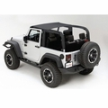 Mesh Island Top, 10-17 Jeep Wrangler by Rugged Ridge