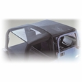 Mesh Roll Bar Top, 07-17 Jeep Wrangler Unlimited by Rugged Ridge