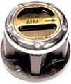 Mile Marker Locking Hubs, 3/4 Ton Jeep Truck, Chevy & GMC, Ford, International, Dodge, 6 Bolt, 19 Spline