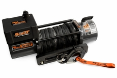 Mile Marker SEC8 Scout ES Waterproof Electric Winch with Synthetic Rope
