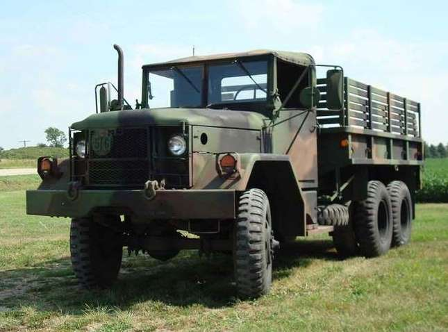 Used Service Trucks For Sale >> M35A1 Truck Parts, M35A2 Truck Parts, 2.5 Ton M35A3, Deuce and a Half Parts
