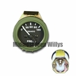 24 Volt Military Vehicle Air Pressure Gauge, 2.5 Ton, 5 Ton