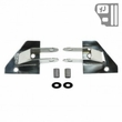 ( 1102601 ) Mirror Relocation Brackets, Stainless Steel, 87-95 Jeep Wrangler by Rugged Ridge