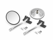 Quick Release Mirror Relocation Pair, Stainless, 97-17 Jeep Wrangler by Rugged Ridge