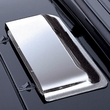 Molded Air Scoop, Chrome, 87-95 Jeep Wrangler by Rugged Ridge