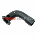 Replacement Fuel Filler Hose, L-Shaped with Flange, fits 1962-1977 Jeep J-Series Truck, Side Fill Only, 18 gallon tank
