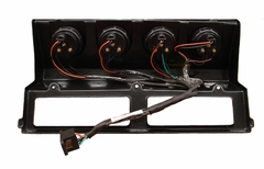 ( YJGPA-9395B ) Gauge Panel with Gauges, 1993-1995 Jeep Wrangler YJ, BLACK gauge cluster panel by MTS