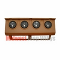 MTS Gauge Panel with Gauges, 1993-1995 Jeep Wrangler YJ, TAN gauge cluster panel