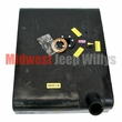 MTS Plastic Gas Tank for 1957-1964 Willys Jeep CJ3B with 6 Screw Sending Unit