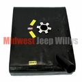 MTS Plastic Gas Tank for 1965-1971 Jeep CJ5 and CJ6 with V6 engine with lock ring style sending unit
