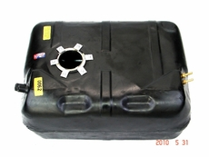 MTS Plastic Gas Tank for 1987-1990 Jeep® Wrangler YJ with 15 Gallon Tank with Round Sending Unit Hole and with a Fuel Bowl
