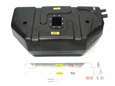 MTS Plastic Gas Tank for 1987-1995 Jeep Wrangler YJ with 20 Gallon Tank with fuel bowl