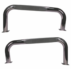 Nerf Bars, Stainless Steel, 76-86 Jeep CJ Models by Rugged Ridge