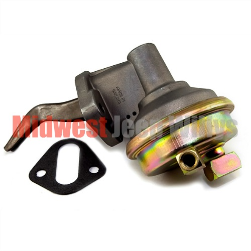 New Replacement Fuel Pump Single Action Fits Cj Jeepster With V Engine on 1965 Kaiser Jeep Military