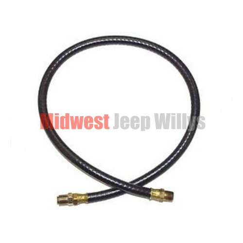 jeep part 647584 oil filter inlet hose  23 u0026quot  long  4