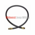 """Oil Filter Inlet Hose, 23"""" Long, 4-134 CI L-Head, 1945-1953 Willys & Jeep Models"""