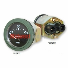 Oil Pressure Gauge, 24 Volt for Dodge M37 Truck