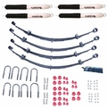 2-Inch Lift Kit with Shocks, 76-86 Jeep CJ Models by ORV Rugged Ridge