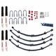 2.5-Inch Lift Kit with Shocks, 87-95 Jeep Wrangler YJ by ORV Rugged Ridge