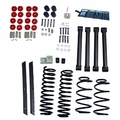 2-Inch Lift Kit without Shocks, 03-06 Jeep Wrangler TJ by ORV Rugged Ridge