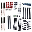 2-Inch Lift Kit with Shocks, 03-06 Jeep Wrangler TJ by ORV Rugged Ridge