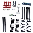 2-Inch Lift Kit without Shocks, 04-06 Jeep Wrangler Unlimited LJ by ORV Rugged Ridge
