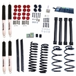 2-Inch Lift Kit with Shocks, 04-06 Jeep Wrangler Unlimited LJ by ORV Rugged Ridge