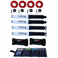2 Inch Coil Spacer Kit with Shocks, 97-06 Jeep Wrangler TJ by ORV Rugged Ridge