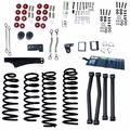 4-Inch Lift Kit without Shocks, 07-17 Jeep Wrangler JK by ORV Rugged Ridge