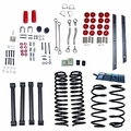 4-Inch Lift Kit without Shocks, 97-02 Jeep Wrangler TJ by ORV Rugged Ridge