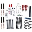 4-Inch Lift Kit with Shocks, 04-06 Jeep Wrangler Unlimited LJ by ORV Rugged Ridge