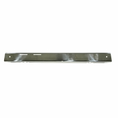 Outland Stainless Front Bumper Overlay, fits 1976-1986 Jeep CJ5, CJ7 and CJ8 Scrambler