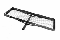 """Outland High Quality Universal Receiver Rack, Black Powdercoat Finish, for 2-inch Receiver Hitches, 20"""" X 60"""""""