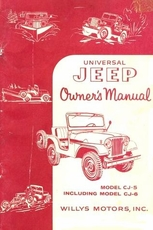 Owner's Manual for Universal Jeep Model CJ5 and CJ6