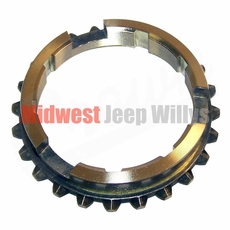Brass Blocking Ring, 2 needed, for T-84 Transmission fits 1941-1945 Willys MB and Ford GPW