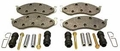 Pad Set Master Kit, Fits 1990-1995 Wranglers, 1997-2001 Wranglers and 1990-1996 Cherokee XJs.
